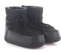 Boots CLASSIC BLACK Lammleder Fell