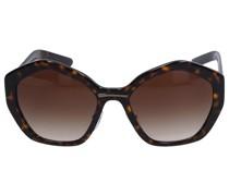 Sonnenbrille Oval SPR08X Acetat Schildkröte