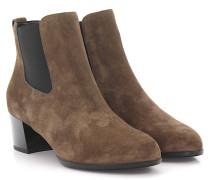 Stiefeletten Boots H272 Veloursleder