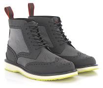 Stiefeletten Boots Budapester Barry Brogue High Gummi Hightech-Jersey
