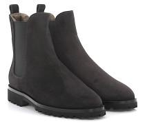 Stiefeletten Boots 7429 Veloursleder Lammfell