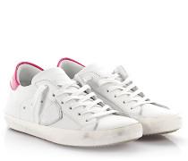Sneaker Classic Low Leder Lackleder pink