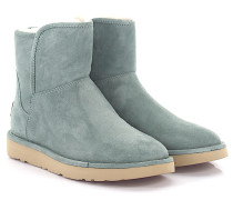 Boots Abree Mini Wildleder Sea green