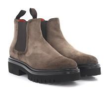 Chelsea Boots 55806 Veloursleder
