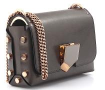 Handtasche Lockett Petite Spazzolato-Leder Metallic-Optik