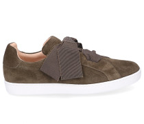 Sneaker low 8254 Veloursleder khaki