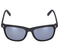 Sonnenbrille D-Frame 043205 Aacetat schwarz