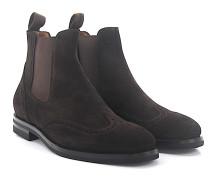 Chelsea Boots 57506 Veloursleder Lyra-Lochung