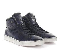 Sneaker 14393 Lederprägung Fell