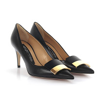 Pumps A78950 Nappaleder Gold-Plated