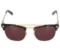 Sonnenbrille D-Frame 174100 Metall Schildkröte gold