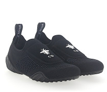 Sneaker Slip On D-FENCE Mesh CD Logo
