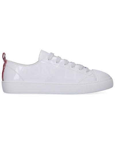 Sneaker low LINDA Kalbsleder Lackleder Logo