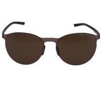 Sonnenbrille Oval 8660 C Acetat gold