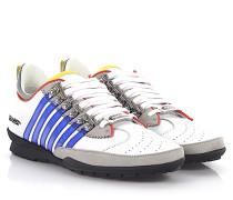 2 Sneaker 251 Low Leder weiss Nubukleder grau