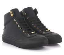 Sneaker High Argyle Leder geprägt