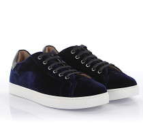 Sneaker Low Loft Leder Samt