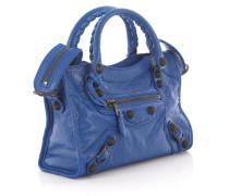 Handtasche Schultertasche Mini City Leder Design-Nieten