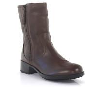 Stiefeletten Boots D71550 Leder