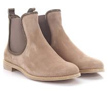 AGL Stiefeletten Boots D70650 Veloursleder taupe