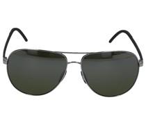 Sonnenbrille Aviator 8651 F Carbon schwarz