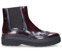 Chelsea Boots PES 39A Lackleder bordeaux