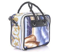 Handtasche Schultertasche Blanket Square S Leder Blumen-Print