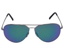 Sonnenbrille Aviator 8505 K Metall Acetat Verspiegelt