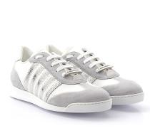 2 Sneaker NEW RUNNER Veloursleder grau Satin