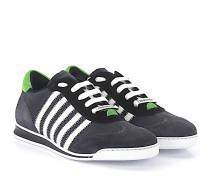 2 Sneaker NEW RUNNER Veloursleder Hightech-Jersey
