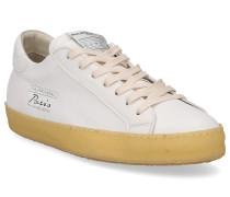 Sneaker PARIS VINTAGE Glattleder Logo