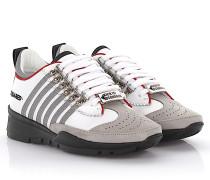 2 Keilsneakers 251 Leder weiß Nubukleder