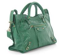 Handtasche Schultertasche CLASSIC CITY Leder crinkled