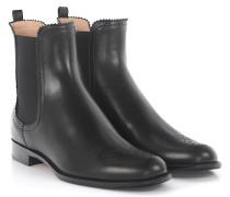 Ankle Boots 7400 Leder Lochmuster