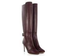 Stiletto Stiefel Darwin 85 Leder bordeaux