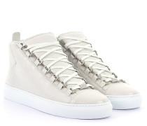 Sneaker ARENA High Leder weiss Crinkled