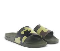 Sandalen SLIDE FLAT Kunststoff multicolor