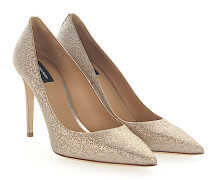 Pumps BASIC Stoff Glitzer
