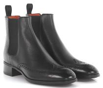 Stiefeletten Boots Budapester 55133 Leder geprägt