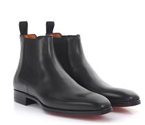Chelsea Boots 15361 Leder durchgenäht