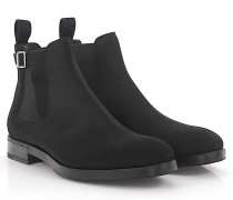Chelsea Boots 56507 Veloursleder Stretch
