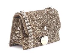 Handtasche Finley Stoff Leder Glitzer