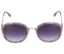 Sonnebrille Oval 220106 Metall Acetat gold