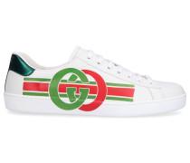 Sneaker low ACE Nappaleder Logo -kombi