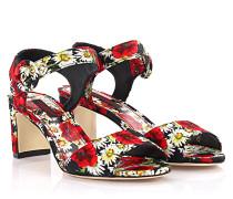 Dolce & Gabbana Riemchensandalen bedruckt Blumenmuster