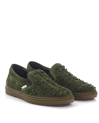 Slip-On Sneaker Grove Veloursleder Stars