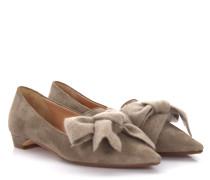 Ballerinas 7813 Veloursleder Stoff