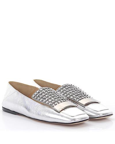 Loafer A77990 Glattleder Kristallverzierung
