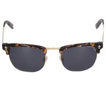 Sonnenbrille D-Frame 174115 Metall Acetat Schildkröte