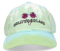 Snapback cap HOLLYWOODLAND Baumwolle Stickerei blau
